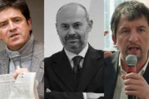 """Finanza & Slow Food: ecco il fondo di investimento Agrifood One visto da Giacomo Mojoli, tra i fondatori storici di Slow Food e oggi """"pensatore"""" del cibo, Filippo La Scala, ad Garnell, ed il presidente onorario di Slow Food Italia, Roberto Burdese"""