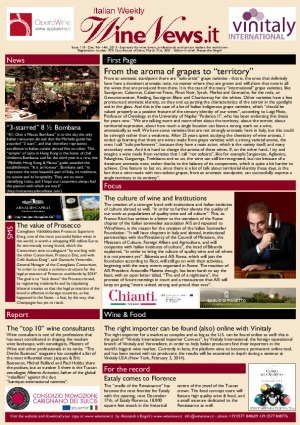 Italian Weekly Wine News N. 118