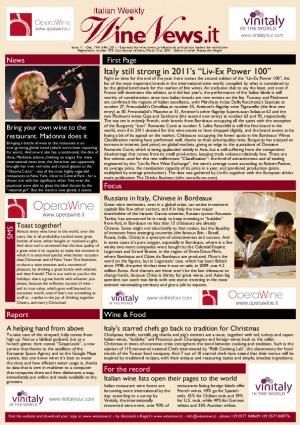 Italian Weekly Wine News N. 11