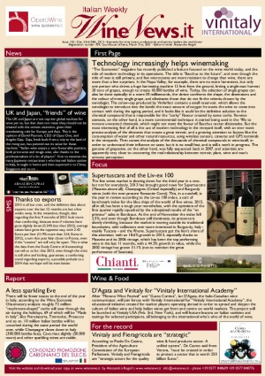 Italian Weekly Wine News N. 120
