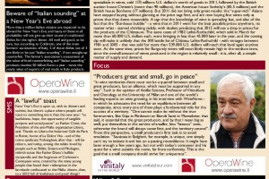 Italian Weekly Wine News N. 12