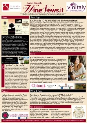 Italian Weekly Wine News N. 174