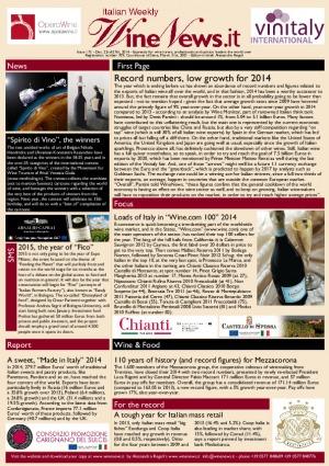 Italian Weekly Wine News N. 175