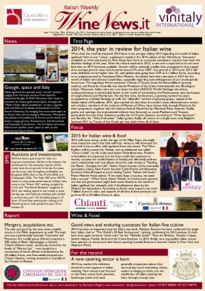 Italian Weekly Wine News N. 176