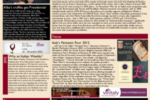 Italian Weekly Wine News N. 1