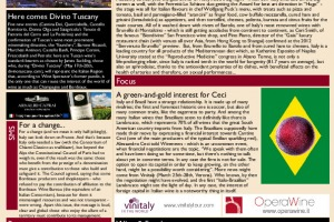 Italian Weekly Wine News N. 21