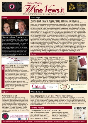 Italian Weekly Wine News N. 229
