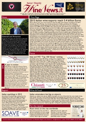 Italian Weekly Wine News N. 230