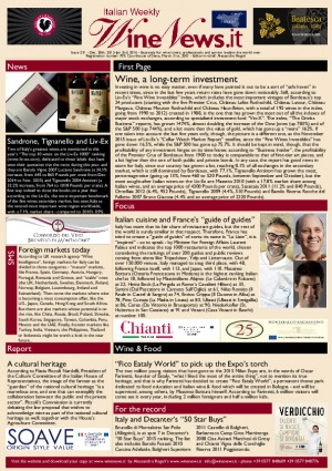 Italian Weekly Wine News N. 231
