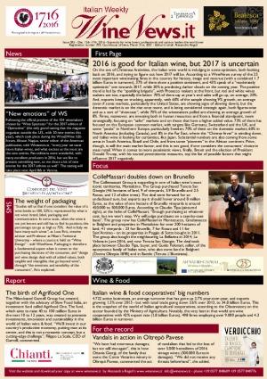 Italian Weekly Wine News N. 285