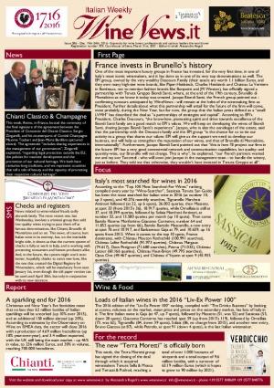 Italian Weekly Wine News N. 286