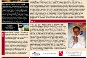 Italian Weekly Wine News N. 32