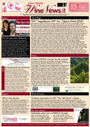 Italian Weekly Wine News N. 343