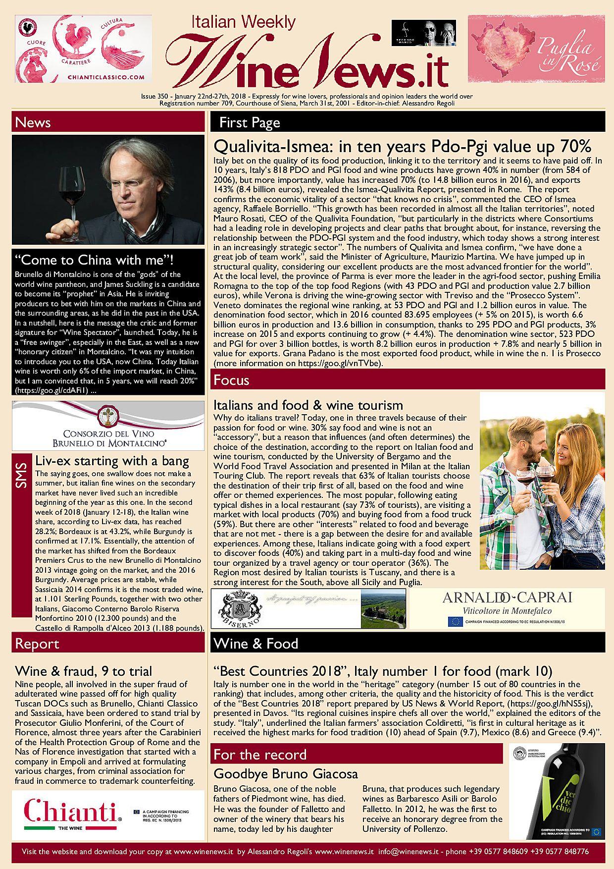 Italian Weekly WineNews
