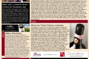 Italian Weekly Wine News N. 36
