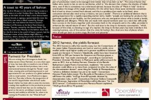 Italian Weekly Wine News N. 39