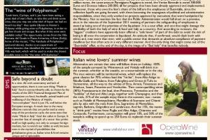 Italian Weekly Wine News N. 41