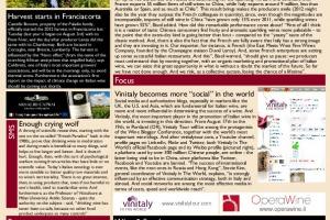 Italian Weekly Wine News N. 46