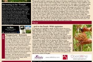 Italian Weekly Wine News N. 49
