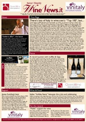 Italian Weekly Wine News N. 64