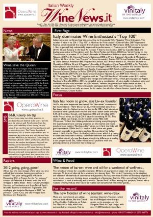 Italian Weekly Wine News N. 9
