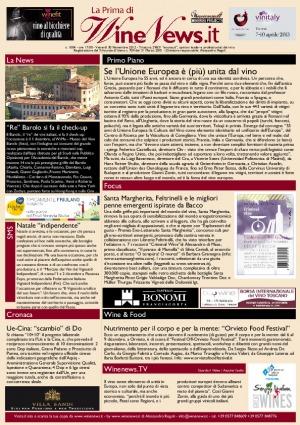 La Prima di WineNews - N. 1004