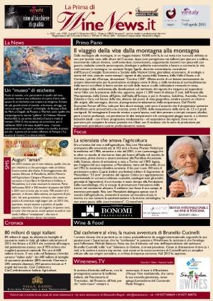 La Prima di WineNews - N. 1023
