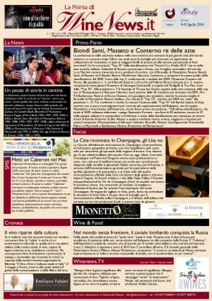 La Prima di WineNews - N. 1128