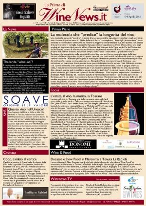 La Prima di WineNews - N. 1147