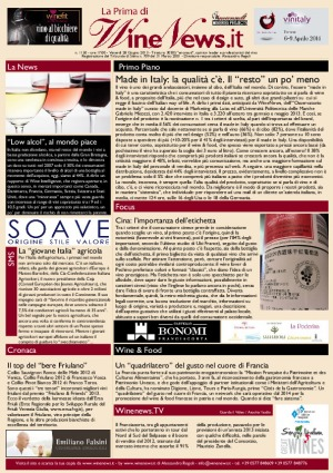 La Prima di WineNews - N. 1150