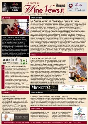 La Prima di WineNews - N. 1173