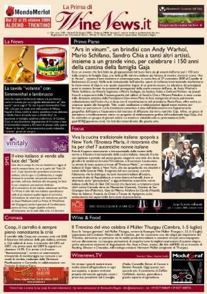 La Prima di WineNews - N. 120