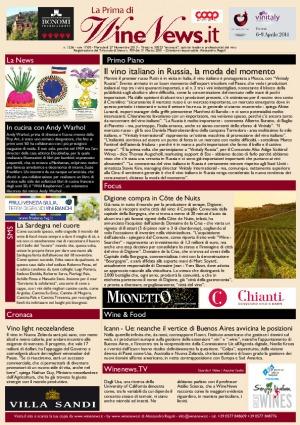 La Prima di WineNews - N. 1256