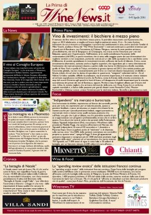 La Prima di WineNews - N. 1258