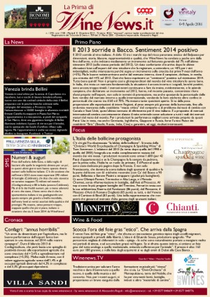 La Prima di WineNews - N. 1278