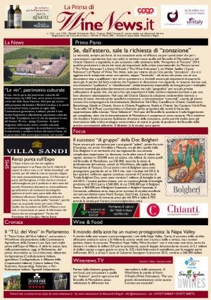 La Prima di WineNews - N. 1316