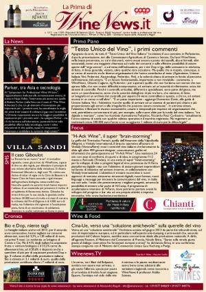La Prima di WineNews - N. 1317