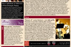 La Prima di WineNews - N. 132