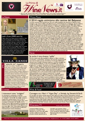 La Prima di WineNews - N. 1338