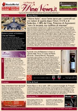 La Prima di WineNews - N. 143