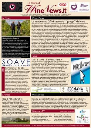 La Prima di WineNews - N. 1467