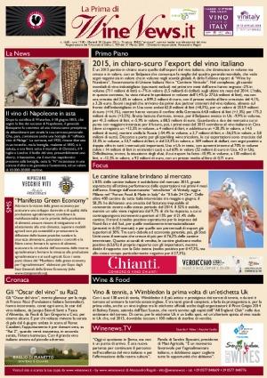La Prima di WineNews - N. 1660