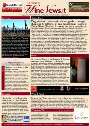 La Prima di WineNews - N. 186
