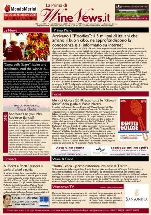 La Prima di WineNews - N. 188