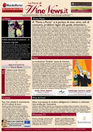 La Prima di WineNews - N. 189