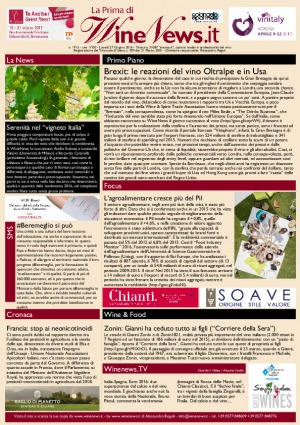 La Prima di WineNews - N. 1915