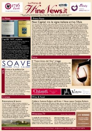 La Prima di WineNews - N. 2027