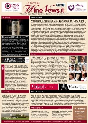 La Prima di WineNews - N. 2028