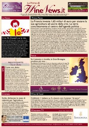 La Prima di WineNews - N. 209