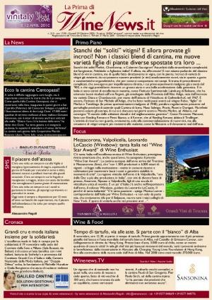 La Prima di WineNews - N. 210